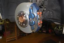 BMW F20 M135 ブレーキパッド850&ローター交換