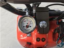 原付きバイクに燃料計を取り付けてみました。