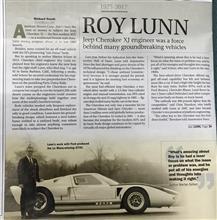 ロイ・ランと フォードGT40