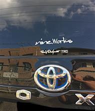 .nine.worksステッカー‼️