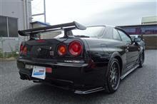『日産 スカイライン GT-R ニスモ製エアロパーツ塗装・取り付け等』 東京都大田区よりご来店のお客様です。
