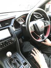 息子の運転でシビックタイプR に同乗しました。(^ ^)