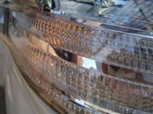 ☆ アルファ―ド ウインカーT20 高輝度タイプに取替ですよ。