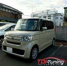 【新型N-BOX DBA-JG3 軽ガソリンターボ車 サブコンTDI Tuning】インプレ頂きました!