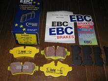 R56「EBC リアブレーキパッド DP41931R Yellowstuff」到着~早っ!^^
