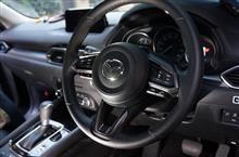 新型マツダ車用ドライカーボン製ステアリングカバー予約販売開始!