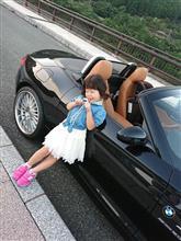 【満五歳でオープンカーdebut!】