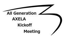 ALL Generation AXELA Kickoff Meeting