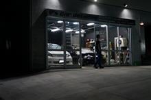 ys special ver.2 施工後2年2ヶ月 BMW320iMスポーツ ガラス皮膜を整えて塗り込みを完了です!