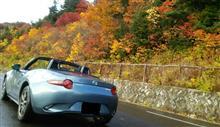 磐梯吾妻スカイラインに紅葉を見に行きました。