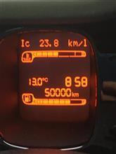 50000キロ