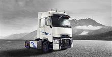 ルノーの大型トラック、アルピーヌチームとのコラボモデル。