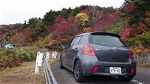 磐梯へ紅葉ドライブ。