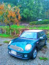 雨の田舎カフェへ