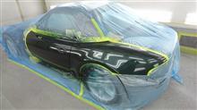 『BMW Z3 左ドア板金・塗装・修理』 東京都立川市よりご来店のお客様です。