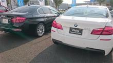 BMWのF10 523dを検討してみる。