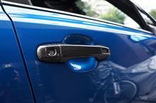 トヨタ C-HR用ドライカーボン製フロントドアハンドルカバー予約販売開始!