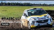 ERC(ヨーロッパラリー選手権)ジュニアクラス/Rally Liepāja 2017