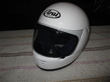 ヘルメットかむったら(片岡義男風)変なおじさんになった。