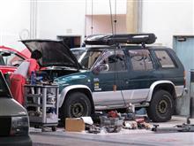 先月の車検整備の続きと手直し依頼&ポキポキな樹脂クランプ交換