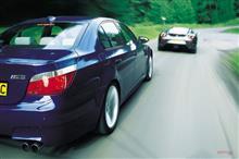 BMW M5 E60 と フェラーリ360モデナ