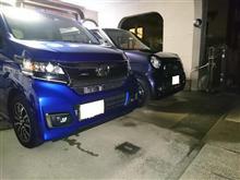 台風一過で洗車日和。