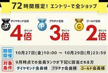 【シェアスタイル】楽天72時間限定ポイントアップ 絶賛開催中!!本日10時00~10月29日(日)23時59分まで