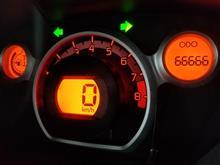 キリ番ゲット! 66,666km