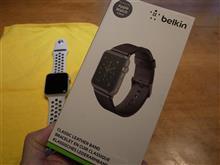 Apple Watch・交換用の革バンドを購入~(#^.^#)