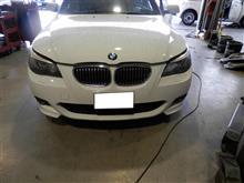 BMW E60 5シリーズ エンジン不調 エアマス交換