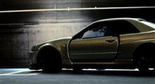 完成!R34 GT-R VスペックⅡ ニュル