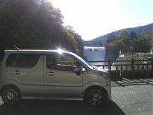 小河内ダム放流見物からの多摩里場への目的は・・・(笑)