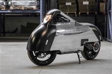 フランス発 流線型レトロ電動バイク