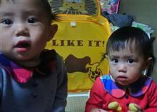 孫二人が、遊んでとせがまれまれましたので、遊んでました(^-^)v