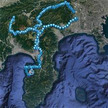 秋の道志〜富士山〜西伊豆ドライブ、434Km
