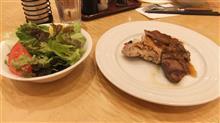 ステーキを食べてきました