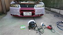 洗車&ヘッドライト磨き APEXキャタライザー