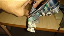 定番ドアノブ破損の暫定修理