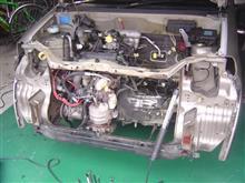 K6A エンジンブロー