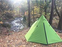 思い出づくりのキャンプ