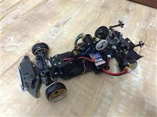 TA03 2WD シャシー追加工完