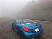 帰り道は夜霧に覆われて・・・