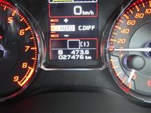今回の燃費(9.9km/l)