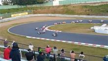 レースを見にいくツーリング