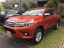 2017 Toyota Hilux 4wd