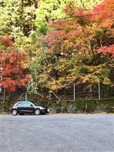 矢作ダムからR418紅葉ドライブで平谷温泉