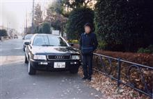 Audi 80 2.0E です!