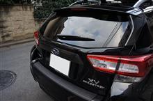 スバル XV、インプレッサスポーツ/G4用ドライカーボン製リアドアガーニッシュ予約販売開始!