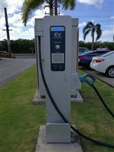Guamで唯一の急速充電器を見に行ってきました