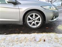 愛車と初雪